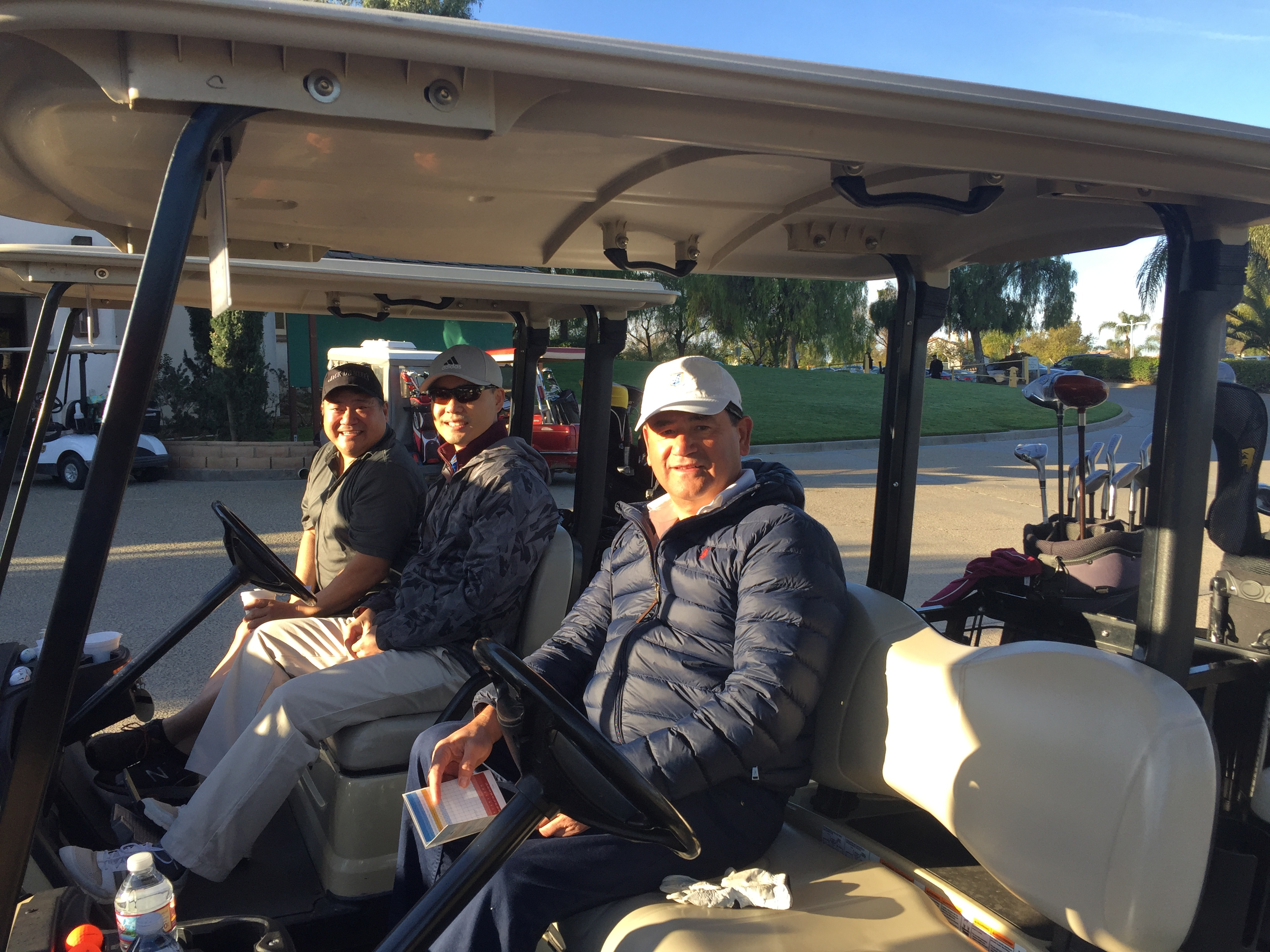 March 15, 2019:  Golf Tournament